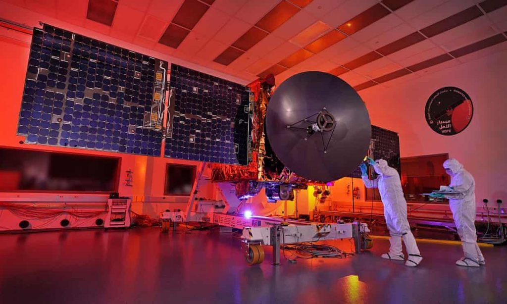 La misión de Emiratos Árabes Unidos a Marte ya está en rumbo