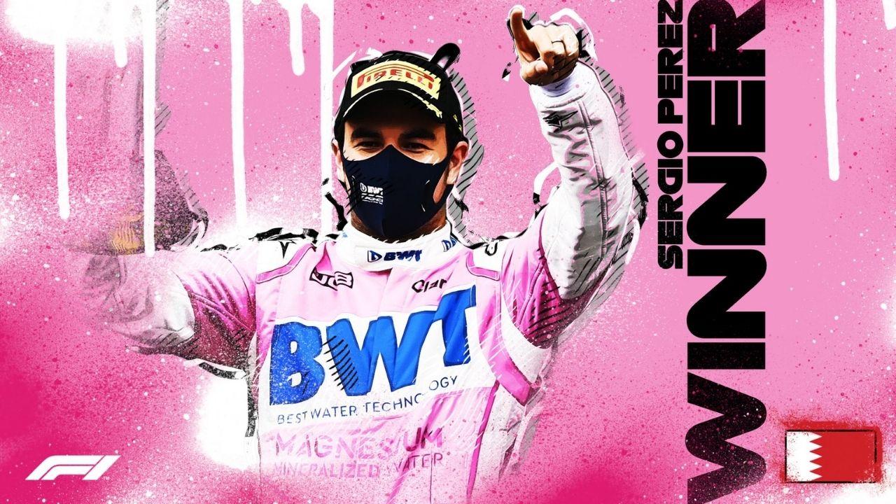 Sergio Perez gana primer gran premio formula 1