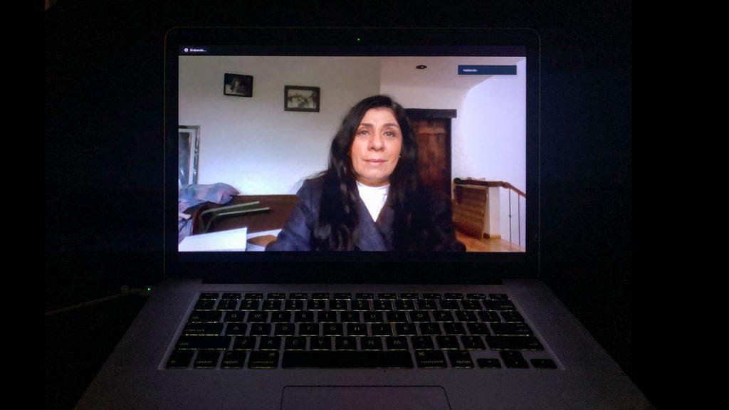 Elvira Espinosa, la comisionada en la primera línea de defensa