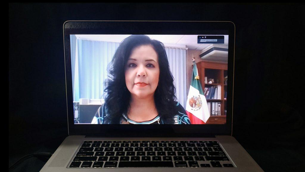 Lorena Urrea, la centinela que aguarda la llegada de las vacunas