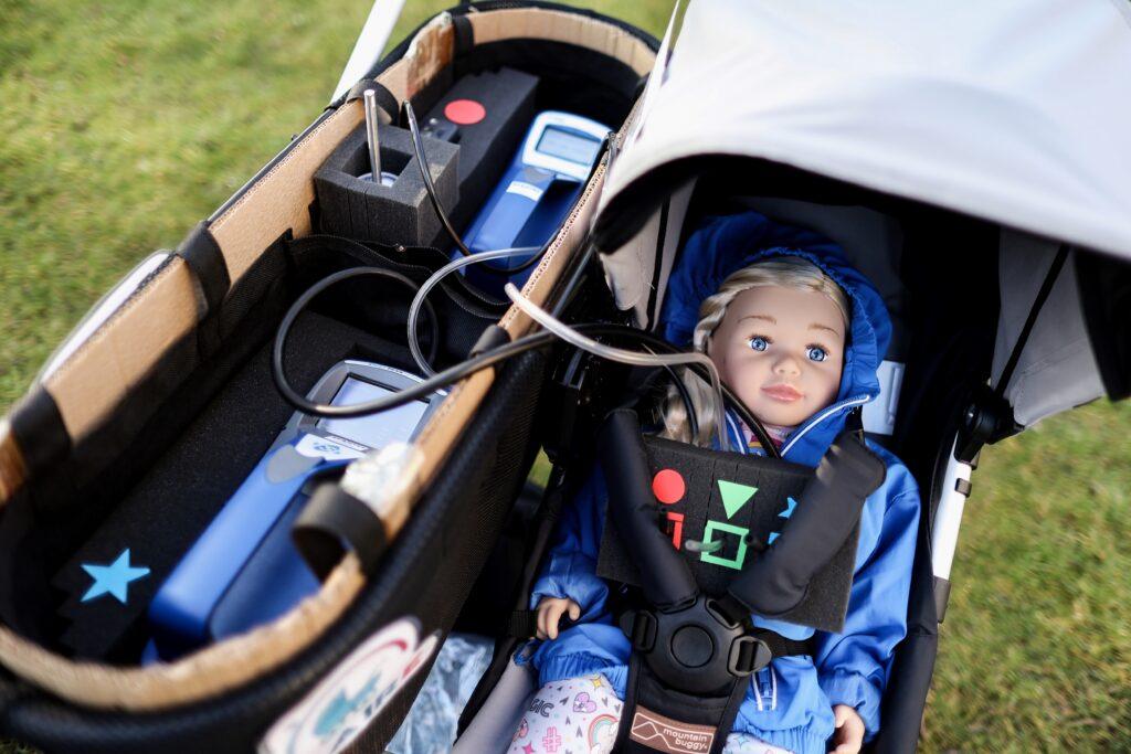 Claire, la 'bebé' que ayuda a medir la calidad del aire en Amberes