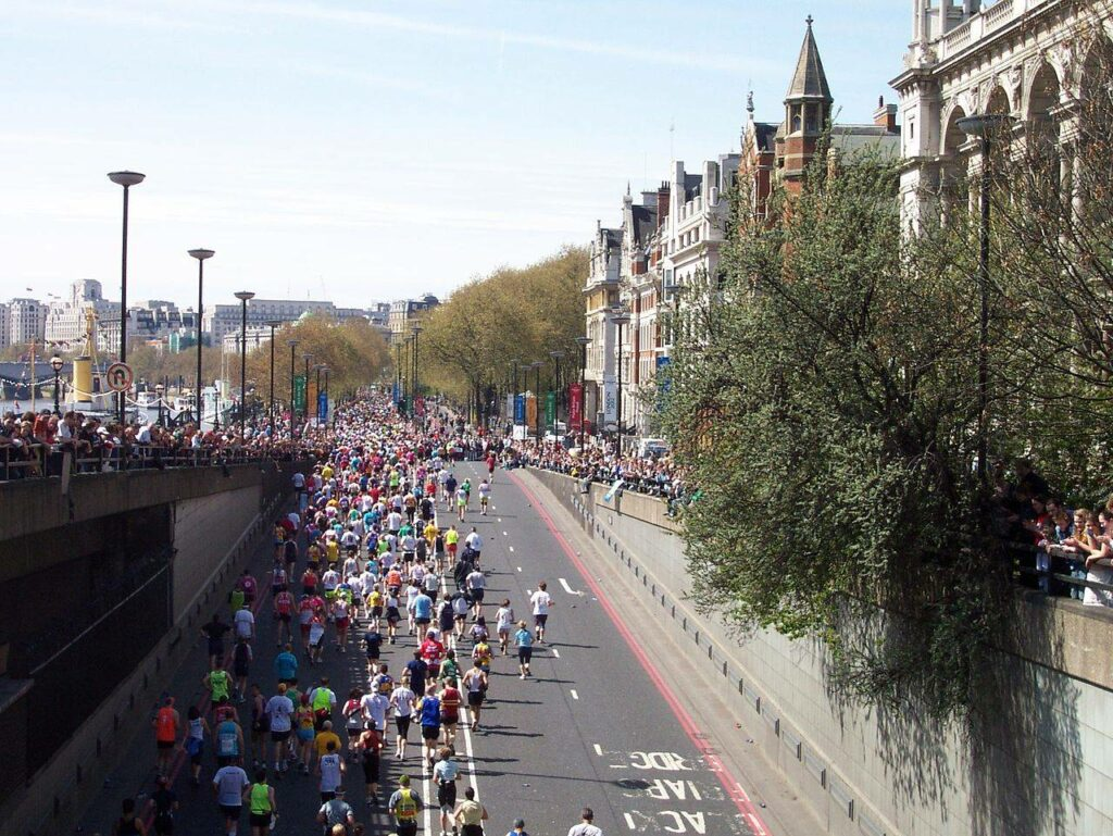 Buscan un récord de corredores para el Maratón de Londres 2021