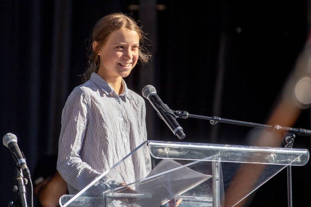 Greta Thunberg a los 18: 'No le digo a nadie qué hacer'
