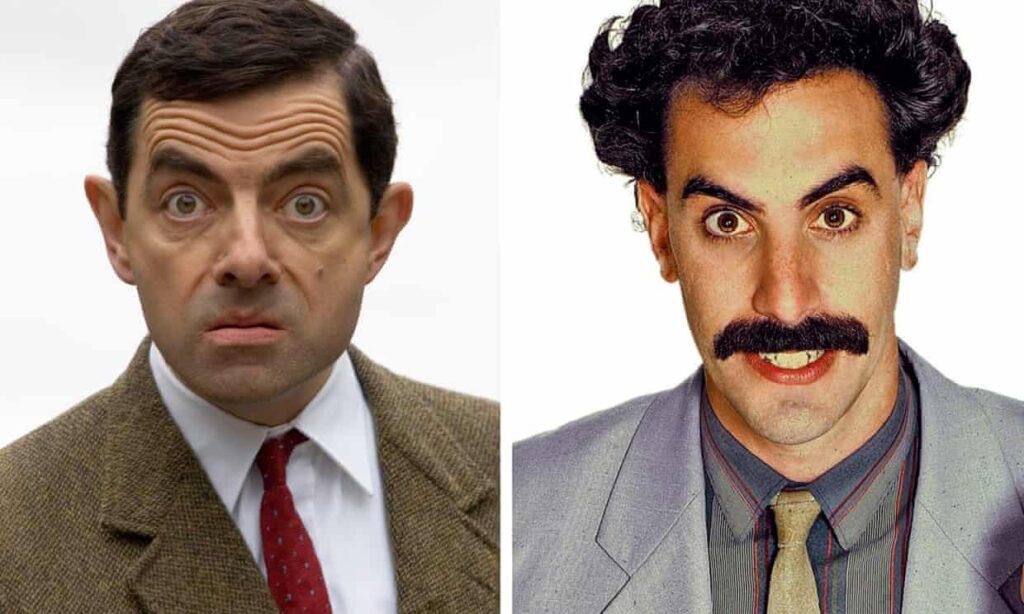 Por qué Mr Bean y Borat están listos para retirarse