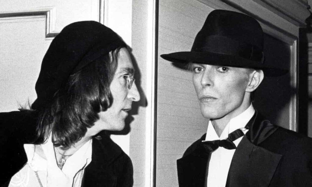 'David estaba aterrado': la historia de cómo Bowie conoció a John Lennon