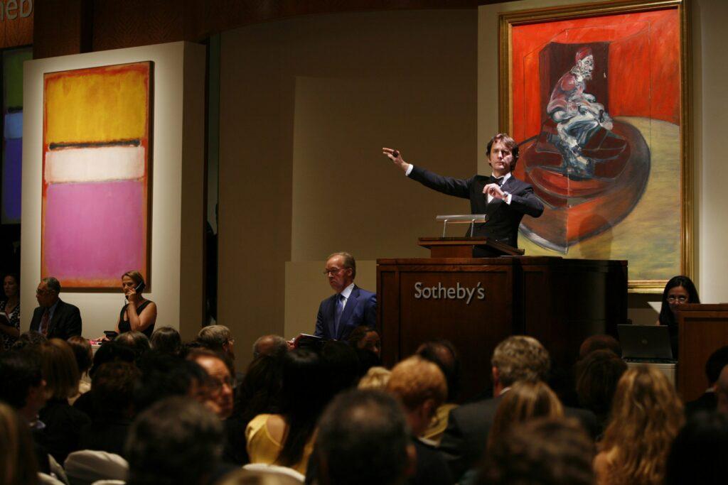 Menos ventas y más e-commerce: las  subastas de arte en tiempos de pandemia
