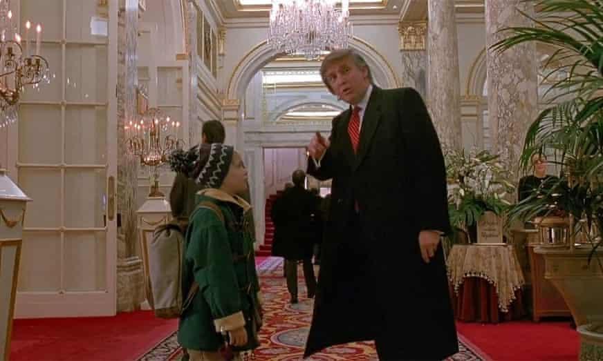 Macaulay Culkin apoya eliminar cameo de Trump en 'Mi pobre angelito 2'