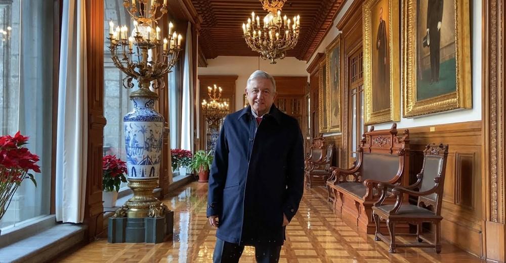 El Presidente en su Palacio