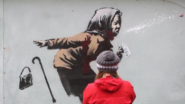 El 2020 fue una montaña rusa de ventas y activismo para Banksy