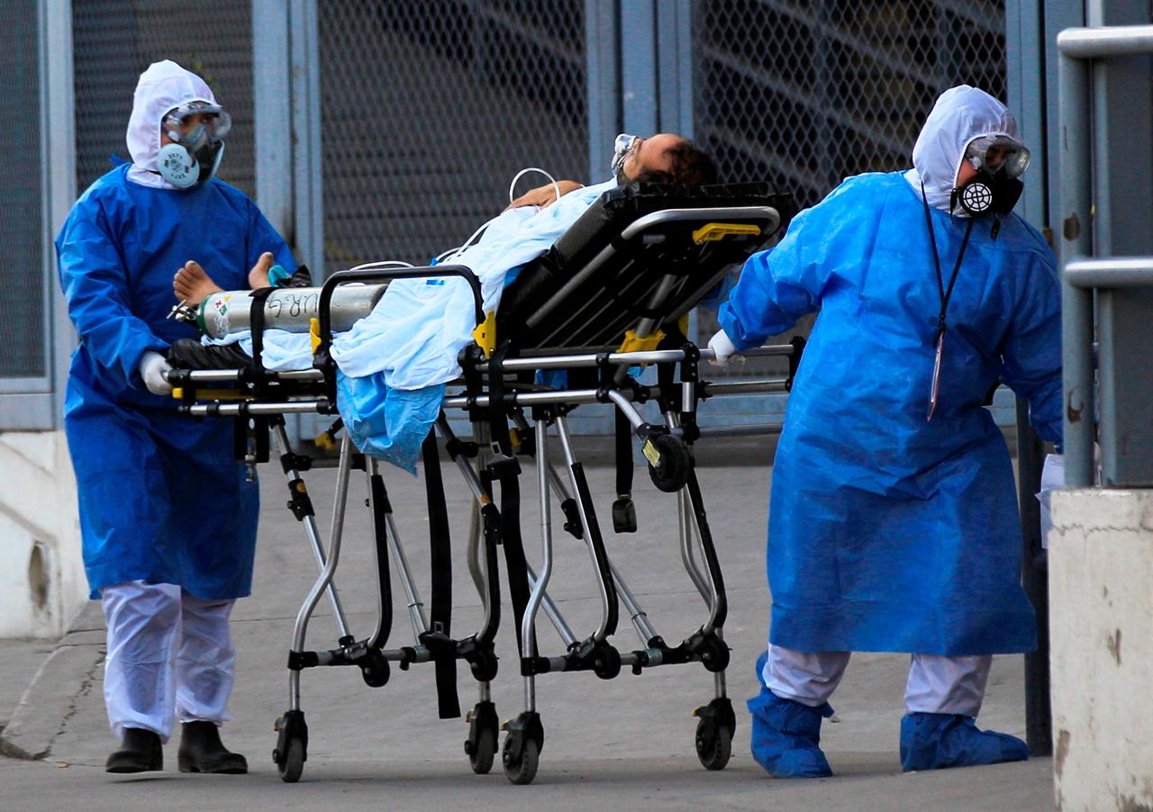Coronavirus Mexico, Personal Medico, hospital, oxigeno