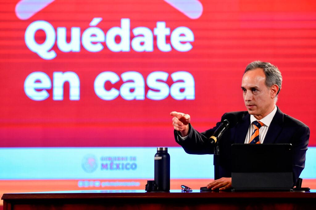 Oficinas de López-Gatell y Alcocer cerrarán por aumento de casos de Covid-19