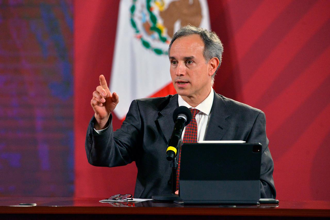 Foto de López-Gatell hablan de la vacuna Patria