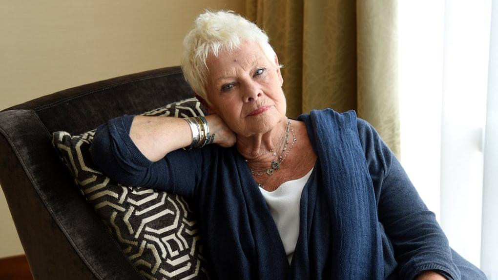 Judi Dench: 'En mi mente mido 1.80, soy flaquísima y tengo 39 años'