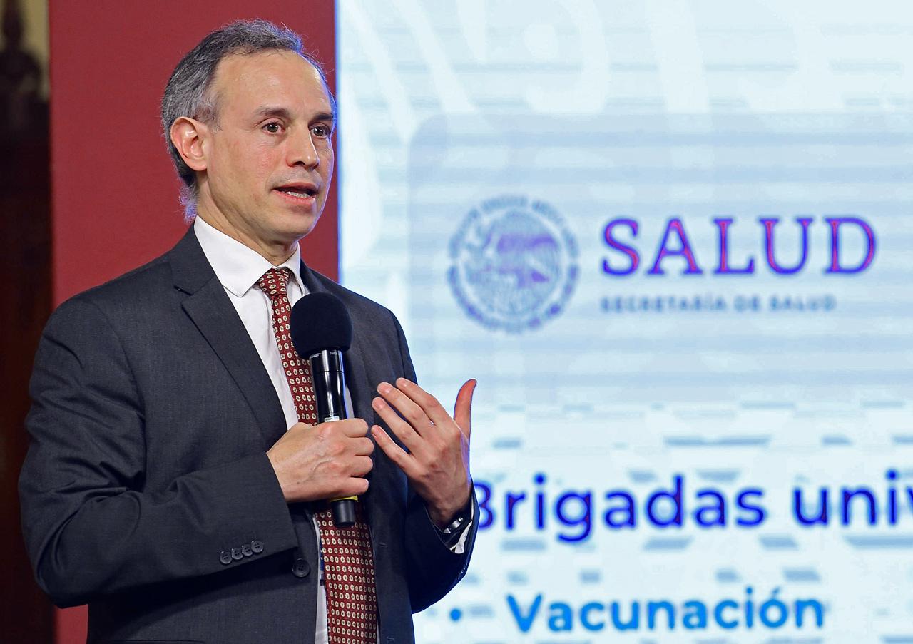 Hugo Lopez Gatell - vacunación contra covid-19 arrancará este 24 de diciembre