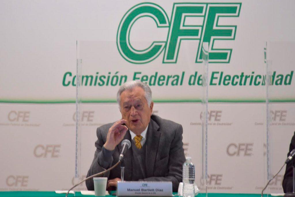 La CFE investiga posibles documentos apócrifos sobre el apagón