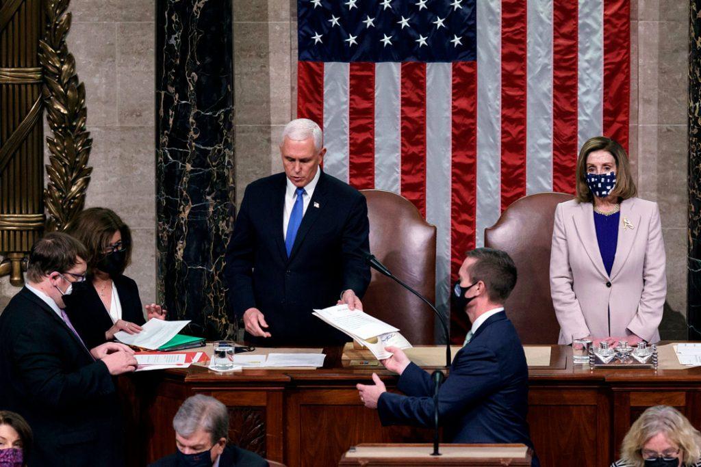 Tres legisladores que se refugiaron durante el asalto al Capitolio dan positivo a Covid-19