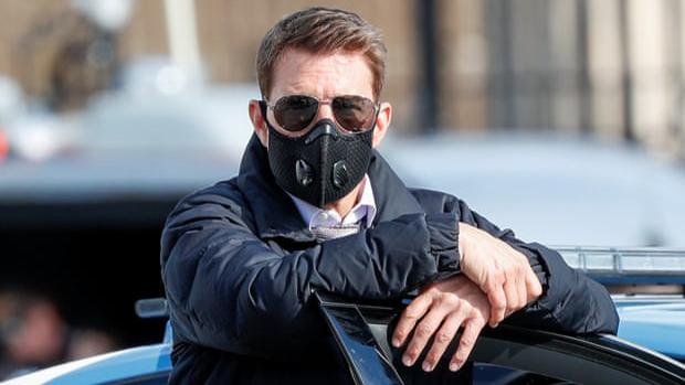 Graban a Tom Cruise gritando y maldiciendo en rodaje de 'Misión Imposible' por Covid-19
