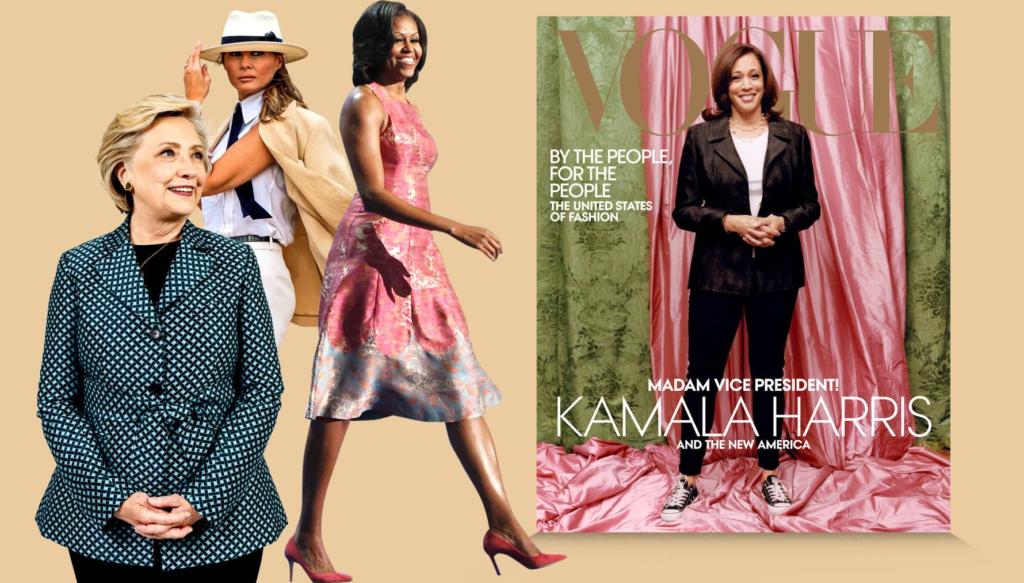 Kamala Harris y sus colegas no se resisten a Vogue, aunque luego terminan llorando