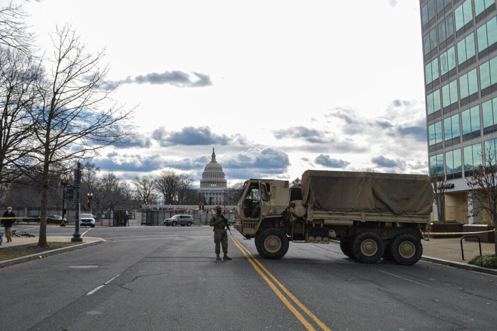 La democracia americana convertida en una ciudad fortificada