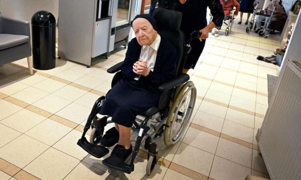 La persona de mayor edad en Europa celebrará sus 117 años tras sobrevivir al Covid