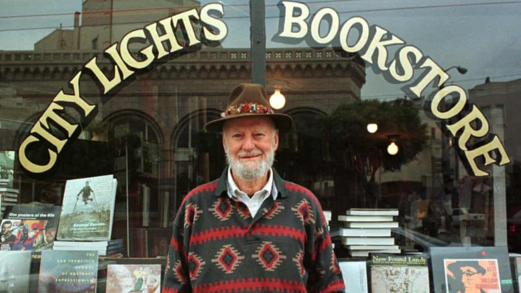 Lawrence Ferlinghetti, poeta y fundador de la librería City Lights, murió a los 101 años