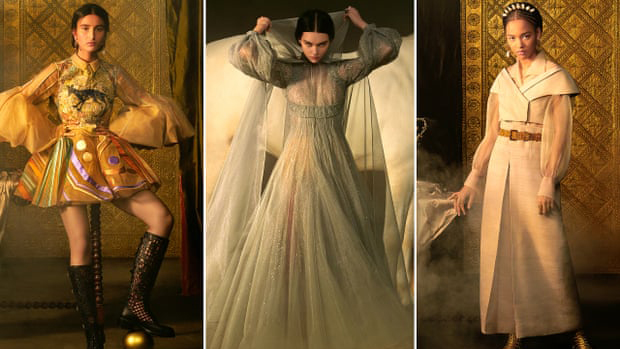 Dior juega las cartas de tarot mientras la alta costura triunfa