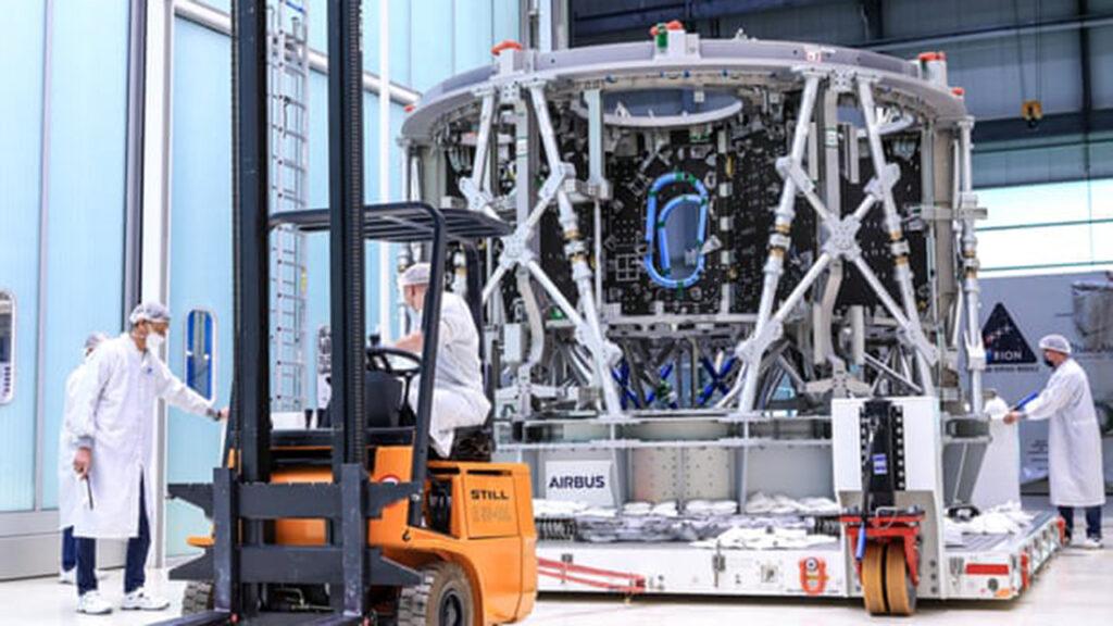 Spacewatch: Airbus construirá tres módulos más para misiones lunares