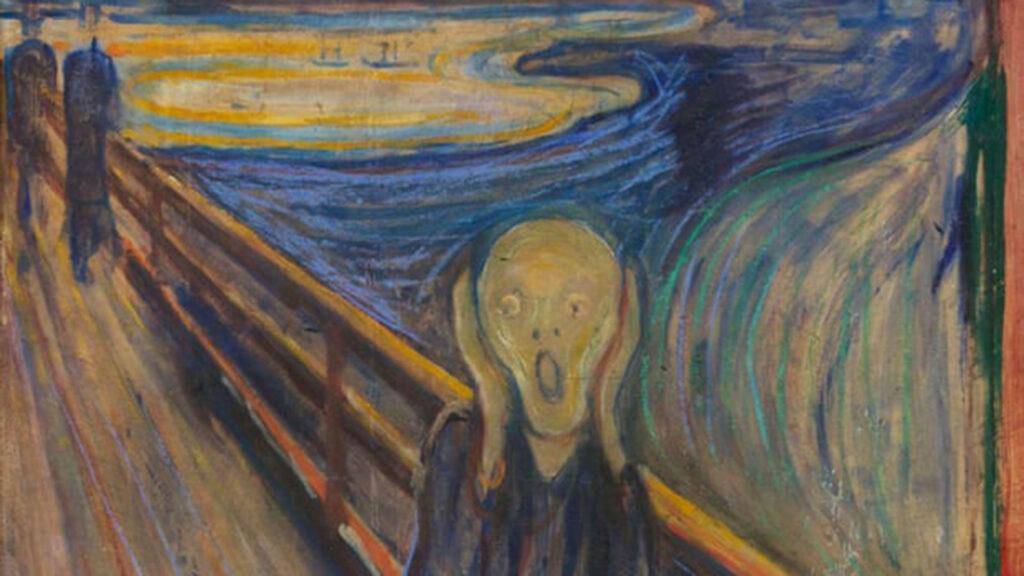 'Lo pintó un loco': El graffiti en 'El grito' podría revelar el estado mental de Munch