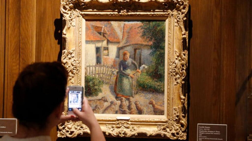 Una mujer francesa enfrenta amenaza judicial por intentar recuperar un Pissarro robado por los nazis