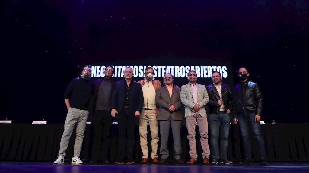 Actores y productores piden reabrir los teatros en México