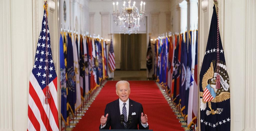 La lucha contra el covid-19 'está lejos de haber terminado: Joe Biden