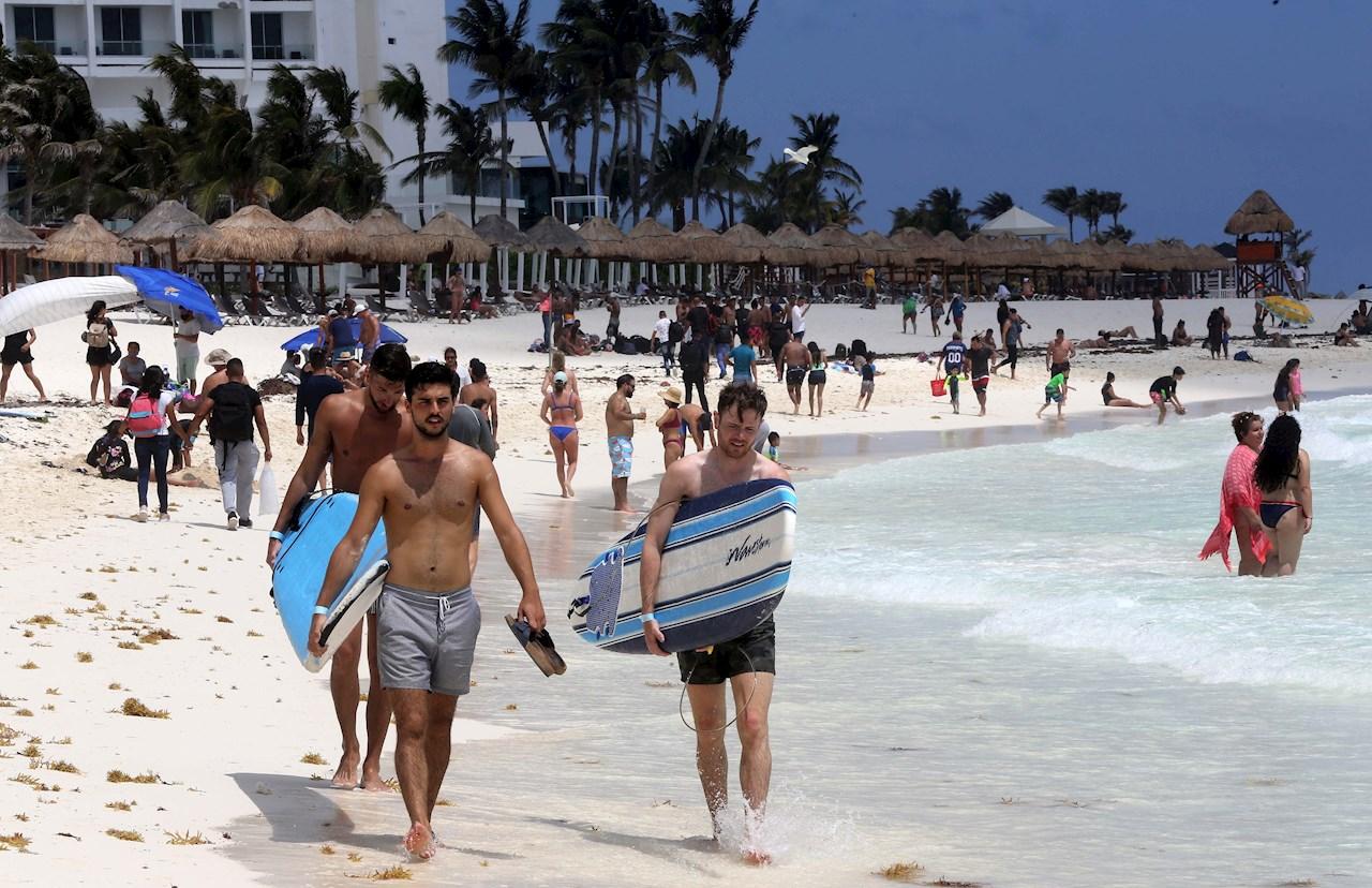 Cancun turismo turistas