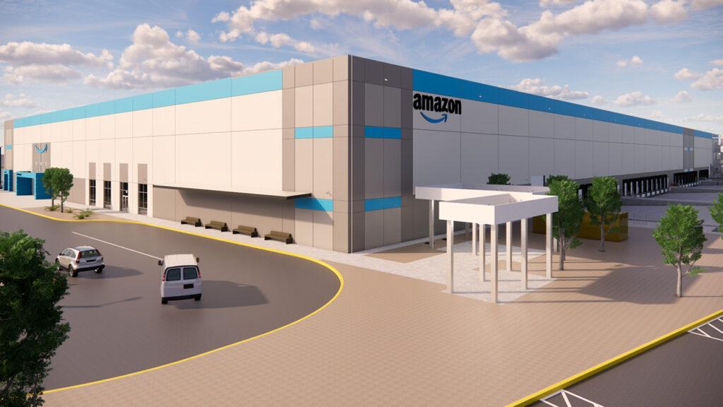 Así será el nuevo centro de envíos de Amazon en Sonora