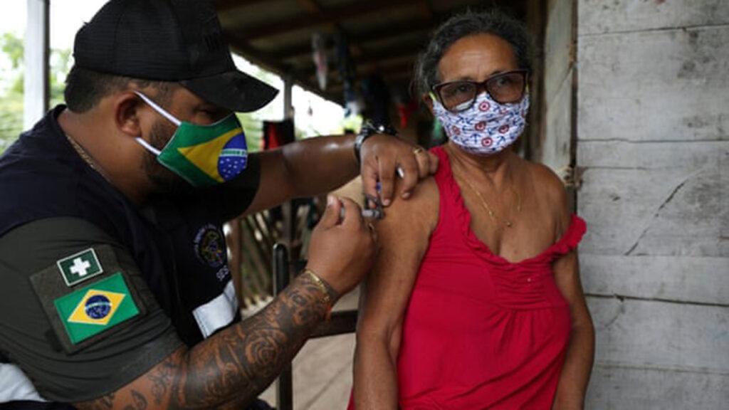 La variante de Brasil evadió el 61% de la inmunidad de casos previos de Covid