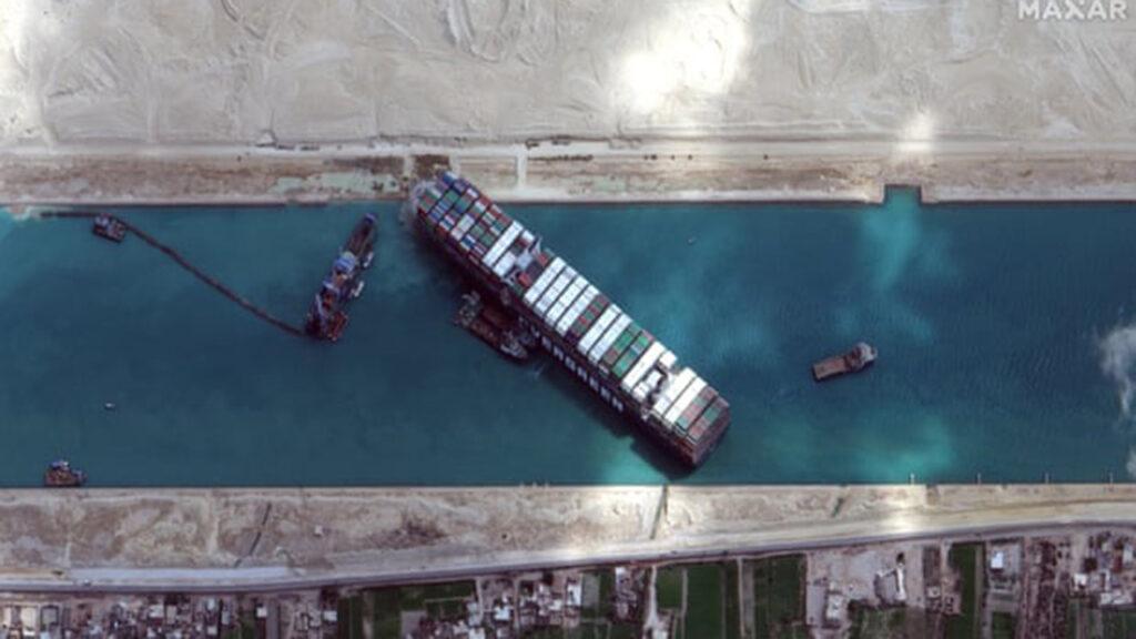 El atascamiento del Ever Given en el canal de Suez fue previsto por muchas personas