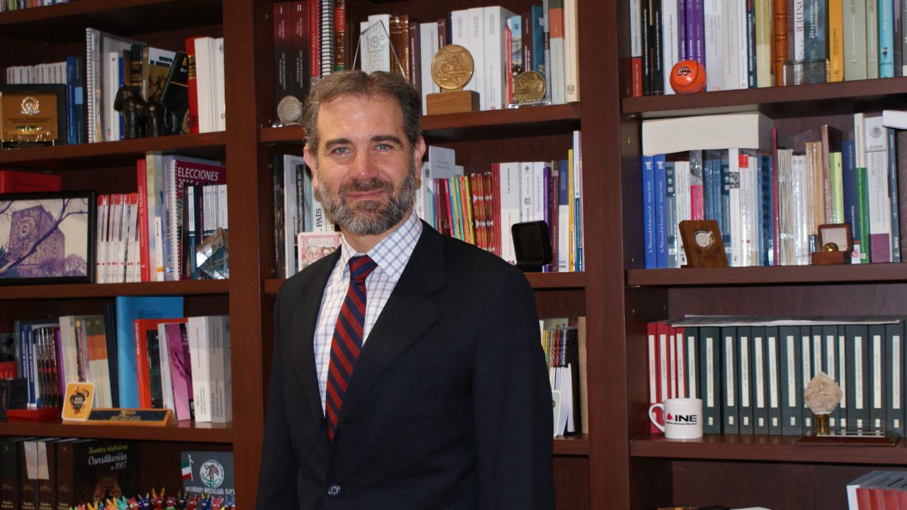 Lorenzo Córdova INE