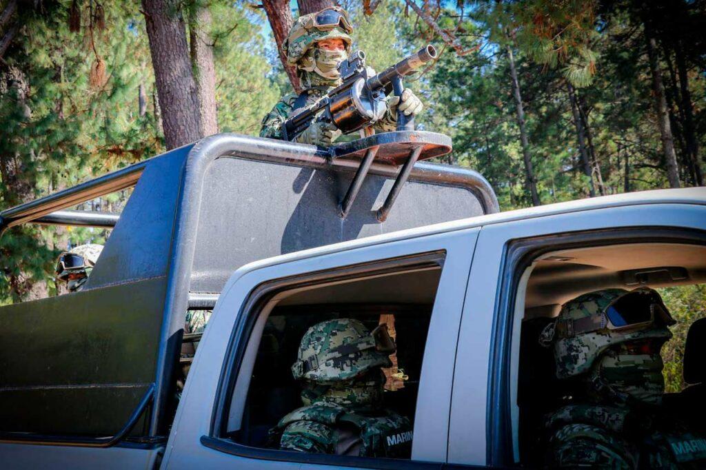 Vinculan a proceso a seis marinos por desapariciones en Nuevo Laredo