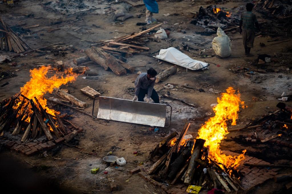 Fotos / 'El sistema se colapsó': el descenso de India al infierno del Covid