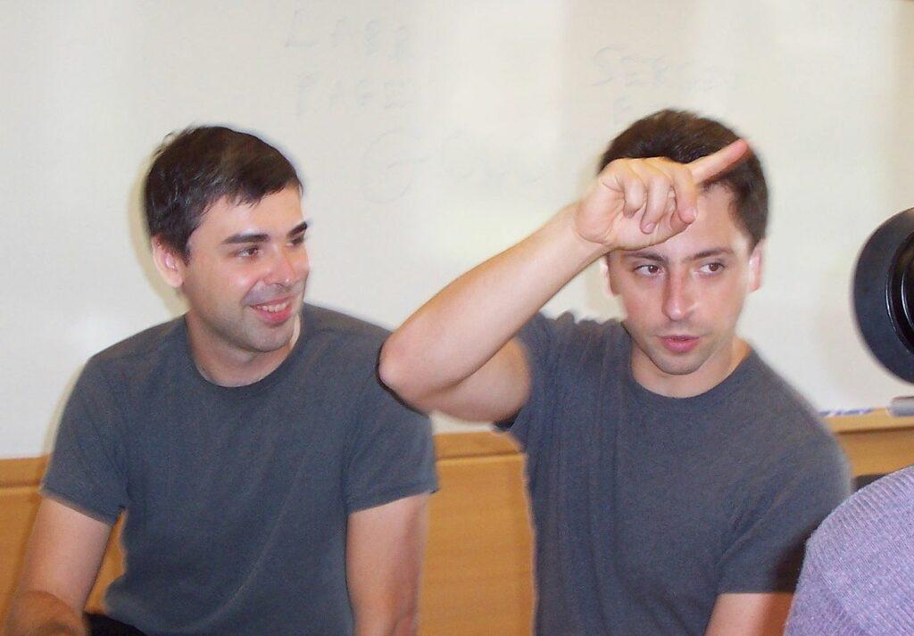 Así es como Larry Page y Sergey Brin, de Google, se unieron al club de los 100 mil MDD