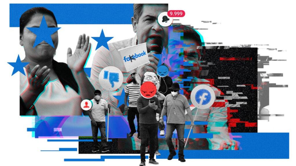 Facebook supo de campaña de desinformación de presidente hondureño y no hizo nada en 11 meses