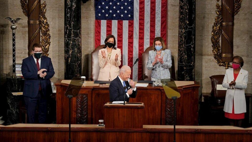 La-Lista de los puntos que hicieron histórico el discurso de Biden ante el Congreso