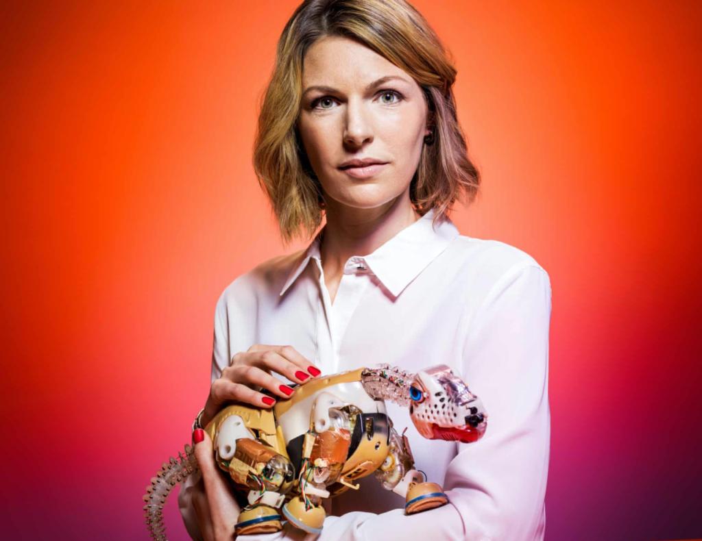 'Los robots pueden ser nuestros compañeros': Kate Darling, especialista en ética de IA