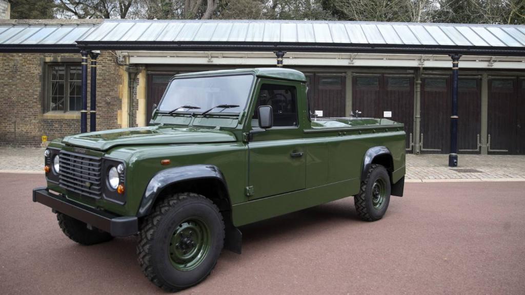 El ensayo del funeral permitió un primer vistazo a la Land Rover que Felipe ayudó a diseñar
