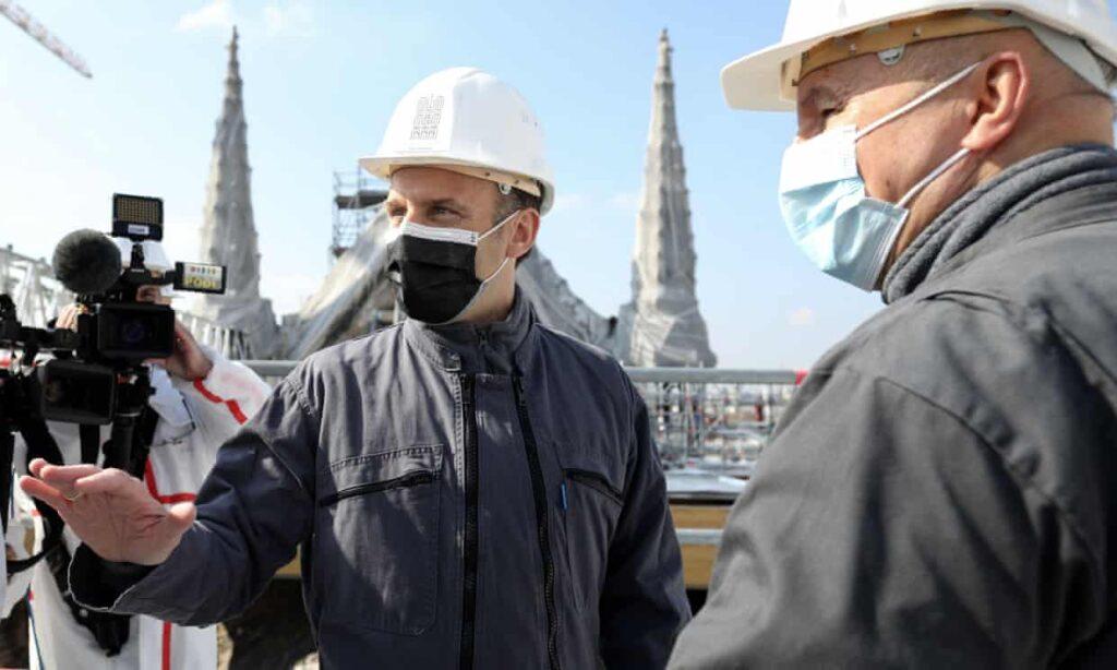 La reparación de Notre Dame es metáfora de que Francia se está recomponiendo: Macron