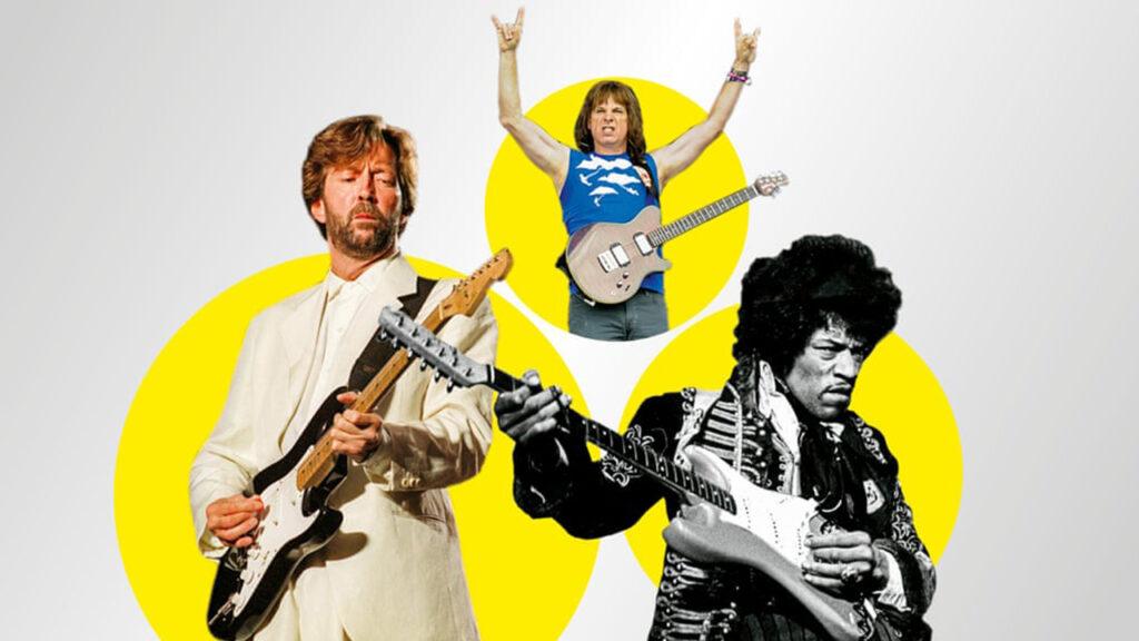 Clapton, Hendrix, Spinal Tap: ¿Cuál es el mejor solo de guitarra?