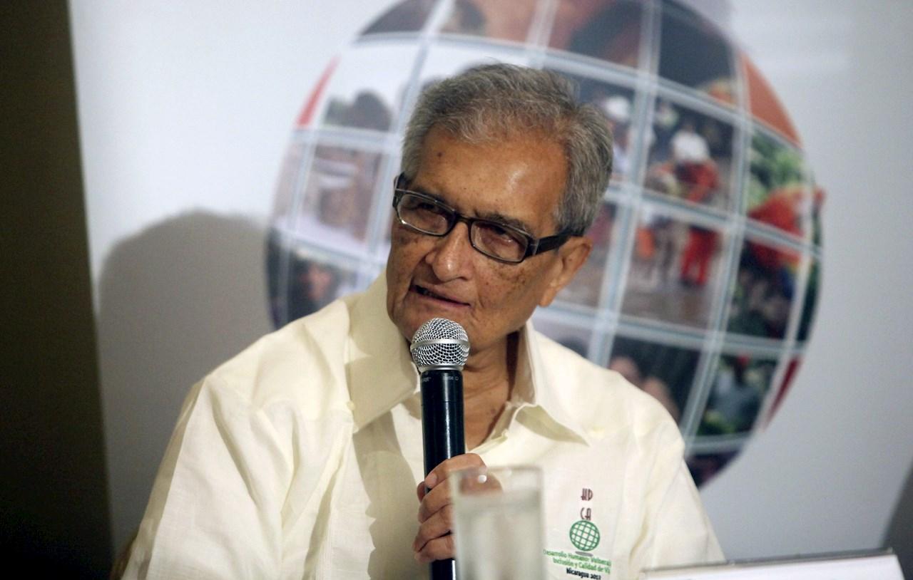 Foto de Amartya Sen, el ganador del Princesa de Asturias
