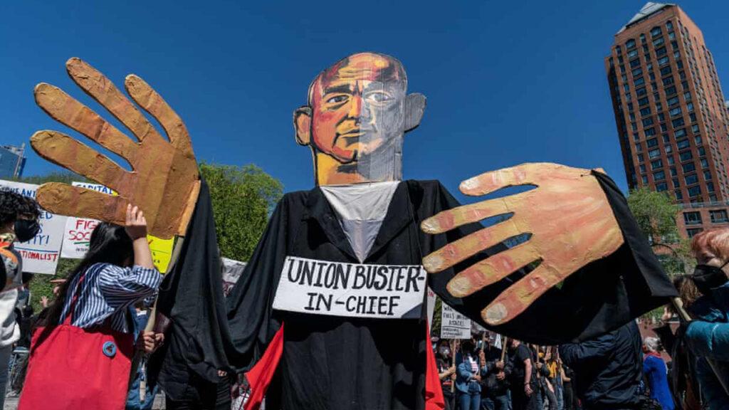 Los trabajadores de Amazon se están levantando en todo el mundo para decir: basta