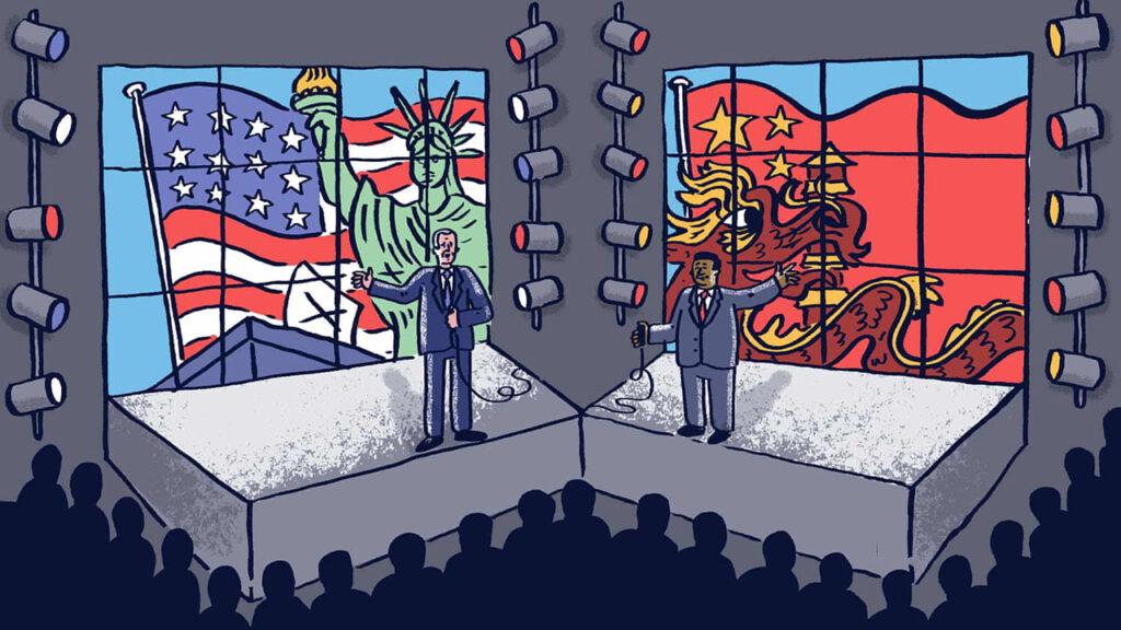 Biden y Xi hablan de un choque de civilizaciones, pero su objetivo es el dominio