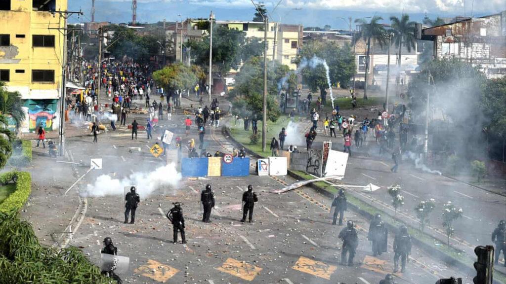 La ONU condena la represión violenta de las protestas en Colombia, tras la muerte de por lo menos 18 personas