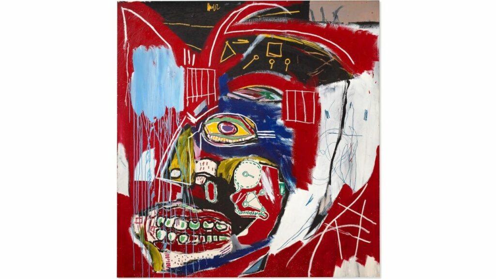 Cuadro de Basquiat vendido en 93.1 mdd, casi el doble de su valor estimado